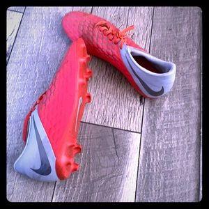 Hypervenom Nike Soccer Cleats